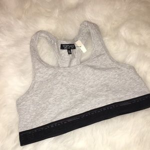 🖤New Topshop sports bra size 6